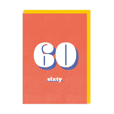 60 Riso Greeting Card