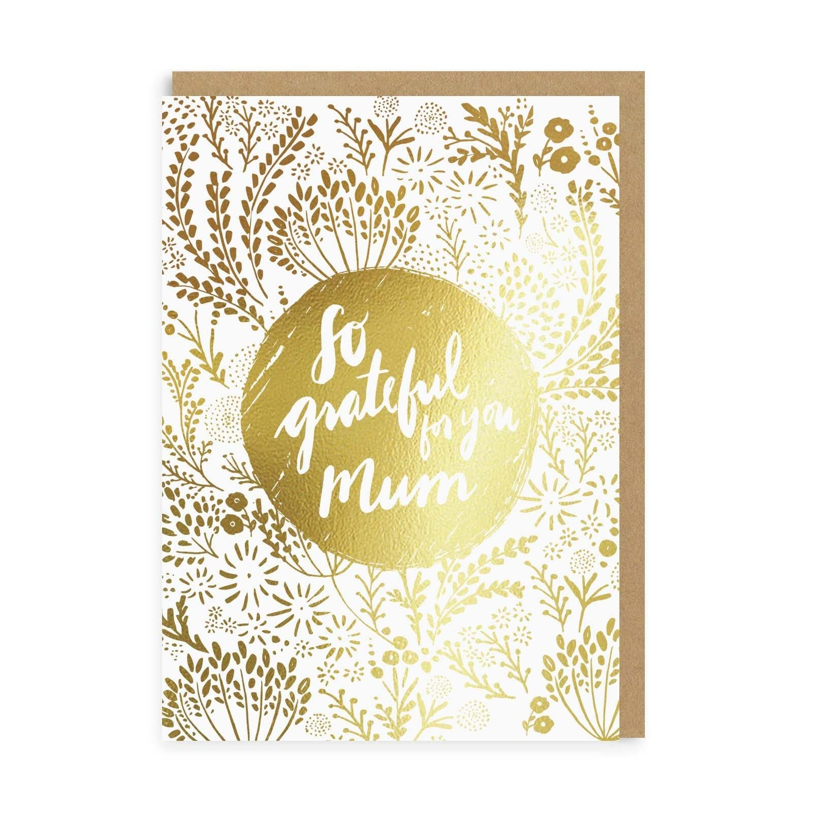 So Grateful Mum Greeting Card
