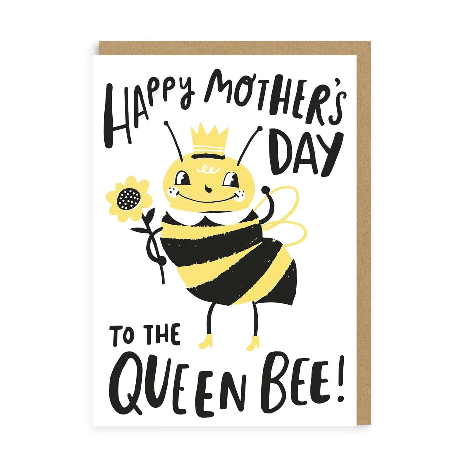 Queen Bee Mother's Day Greeting Card