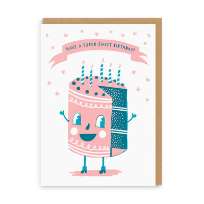 Sweet Cakes Birthday Greeting Card