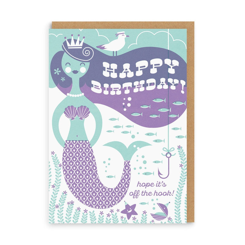 Off The Hook Greeting Card