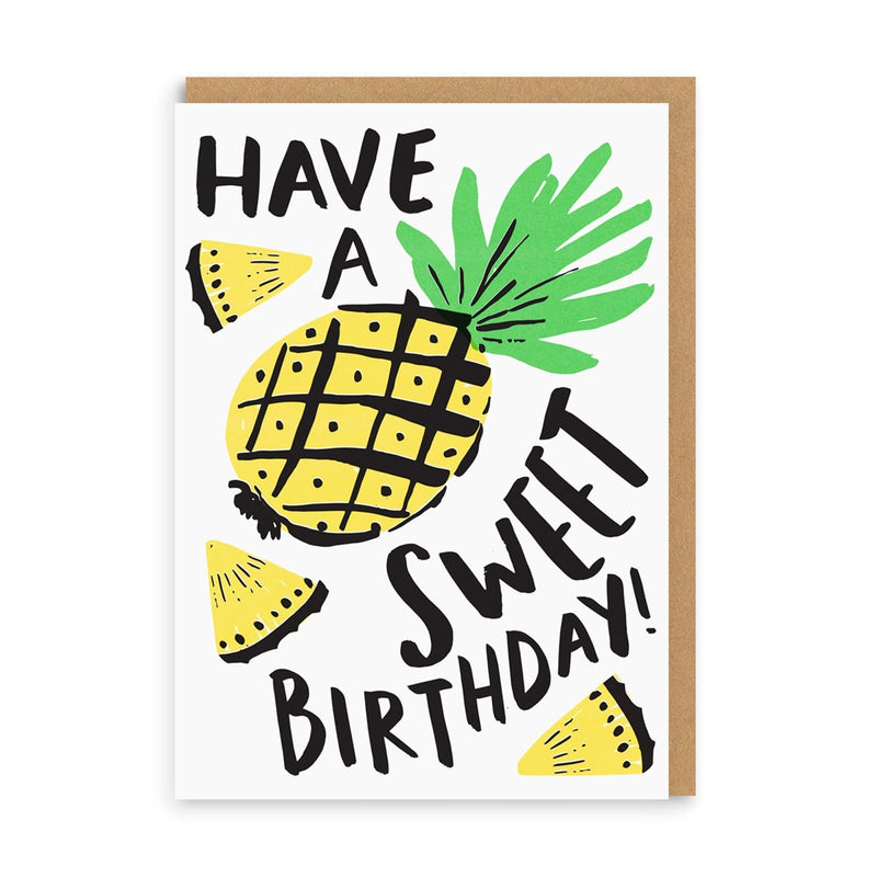 Have A Sweet Birthday Greeting Card