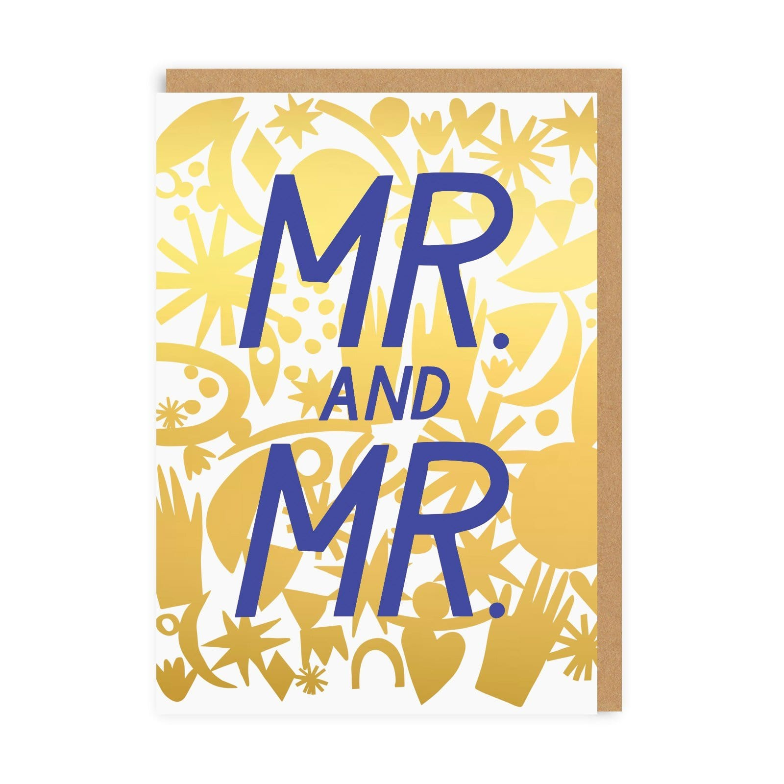Mr & Mr Greeting Card