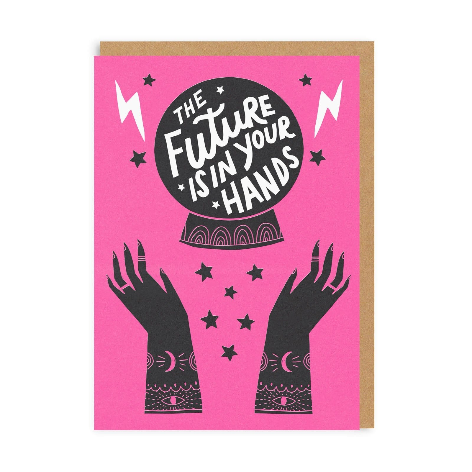 The Future Is In Your Hands Greeting Card