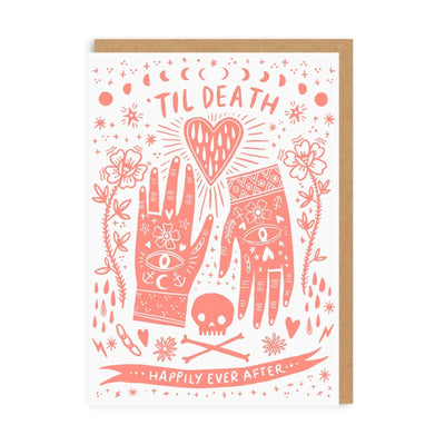 Til Death Happily Ever After Greeting Card