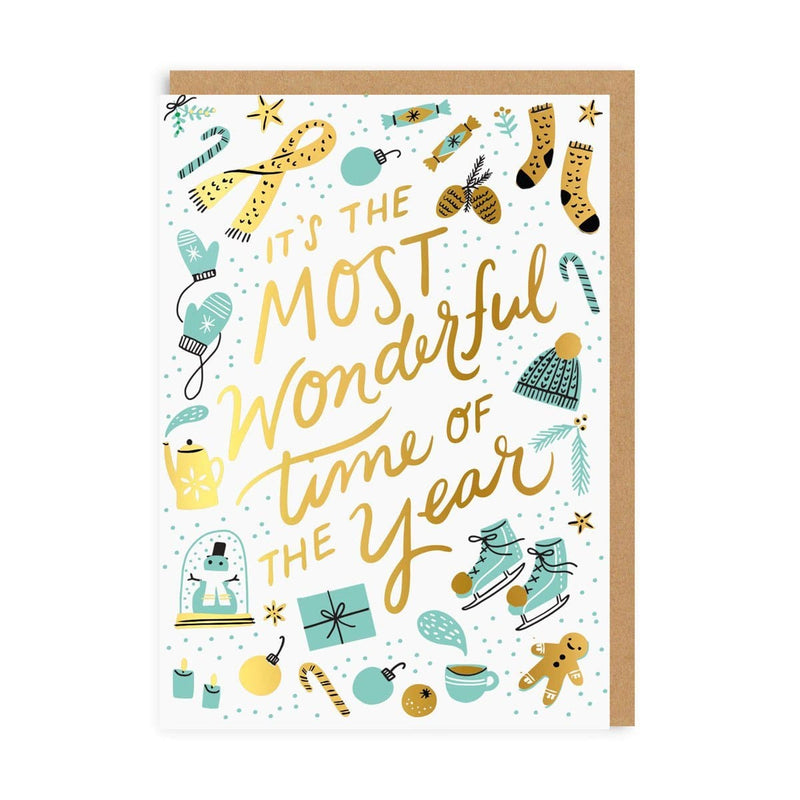 Most Wonderful Time Greeting Card