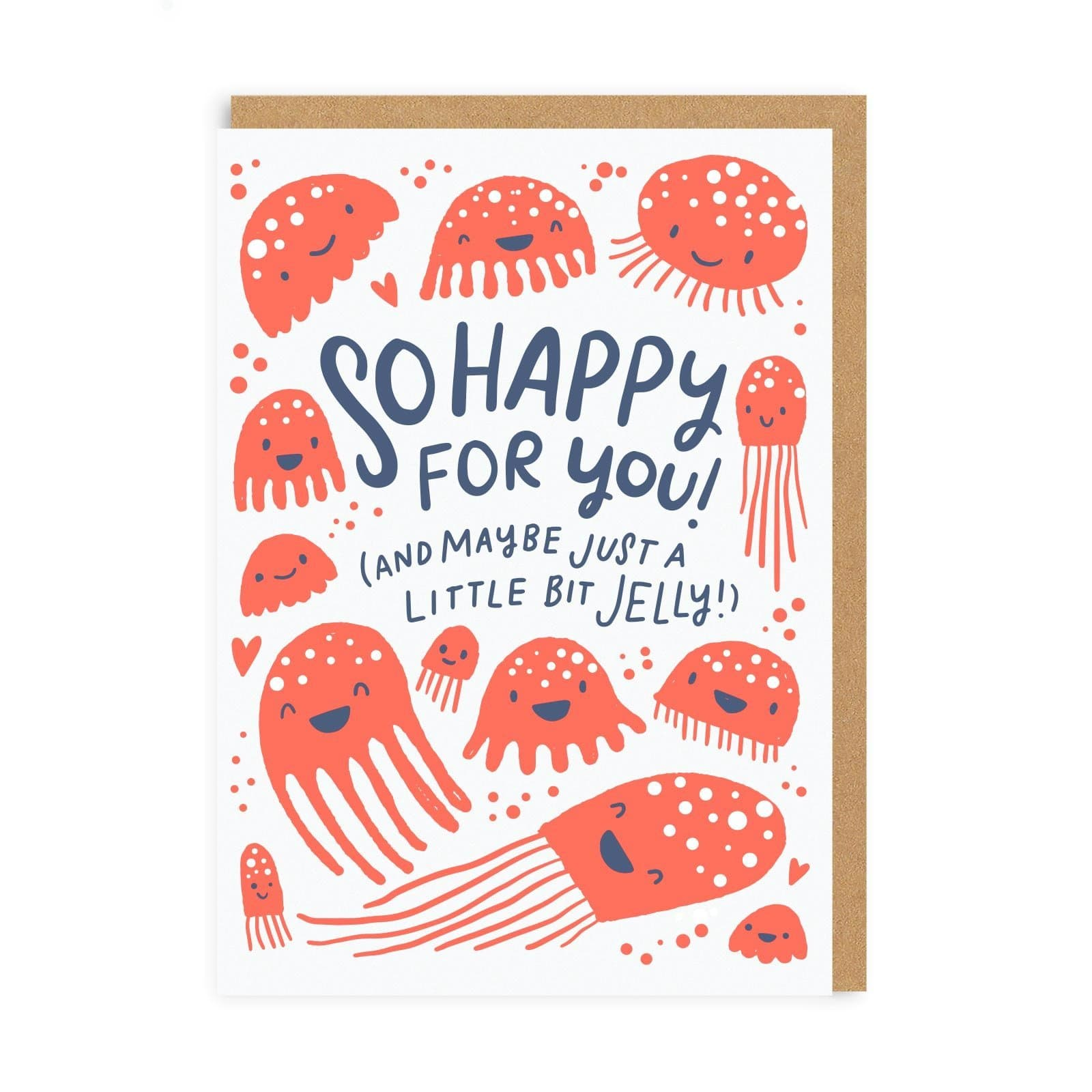 So Happy Jelly Greeting Card