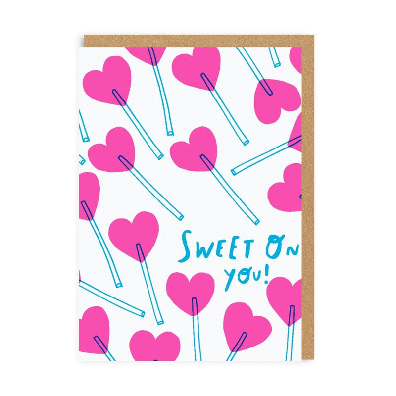 Sweet On You Greeting Card