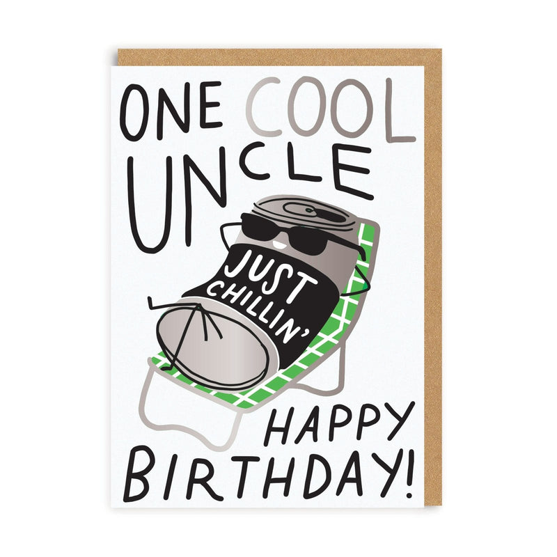 One Cool Uncle Greeting Card