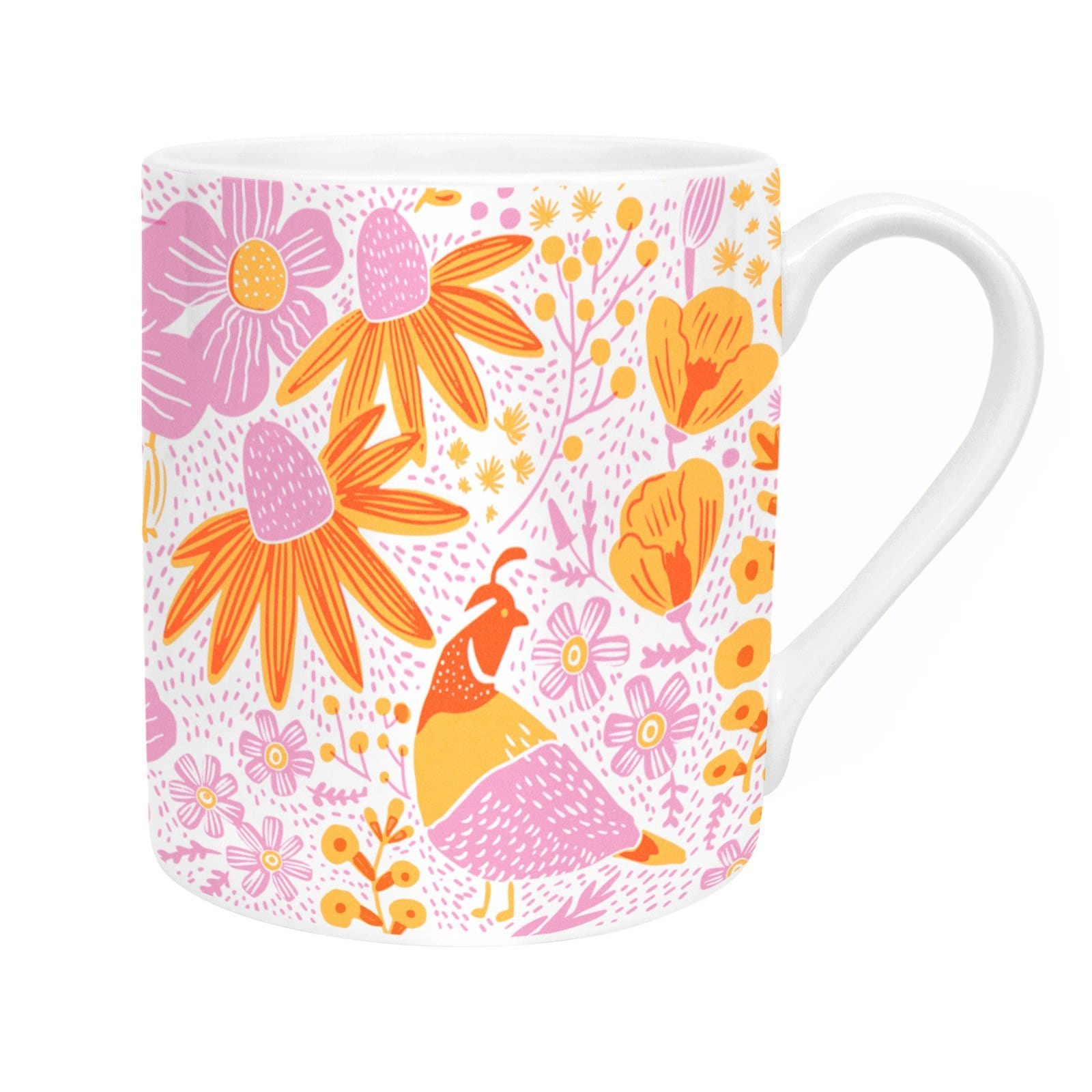 California Flora Poppies Mug