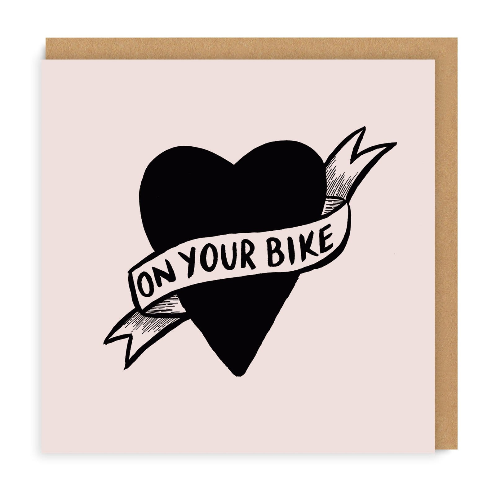 On Your Bike Greeting Card