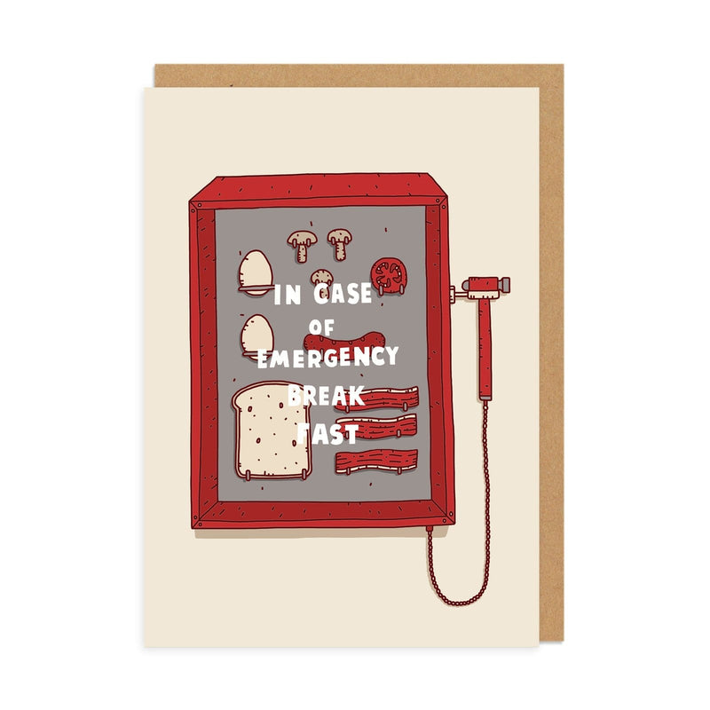 In Case of Emergency Greeting Card