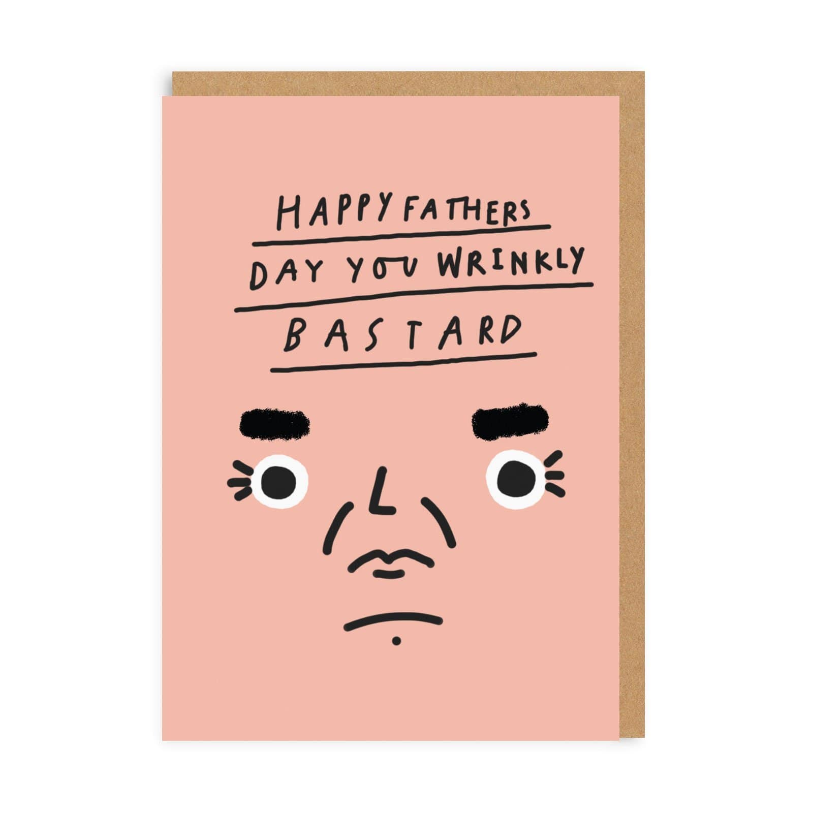 Dad Wrinkly Father's Day Greeting Card