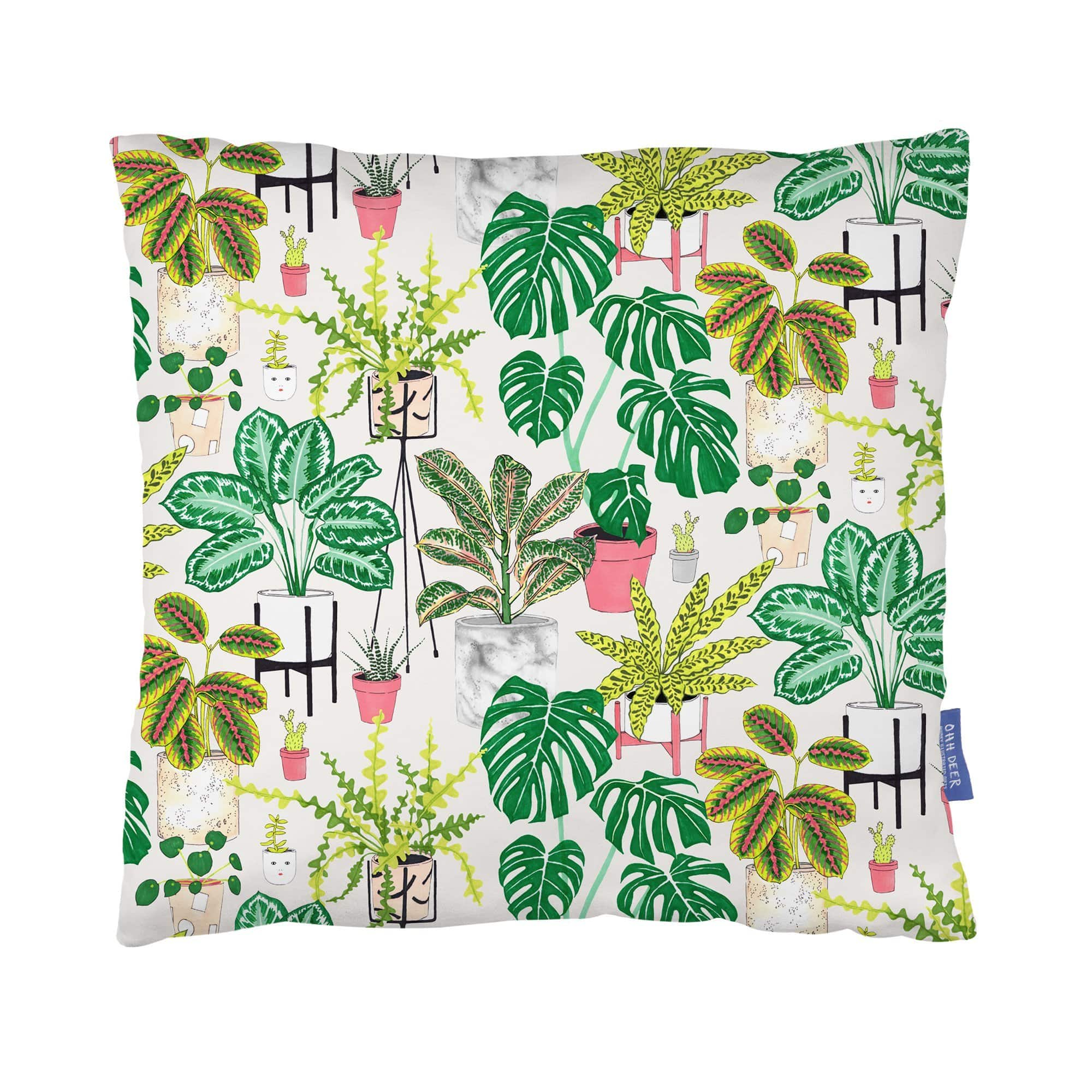 House Plants Cushion