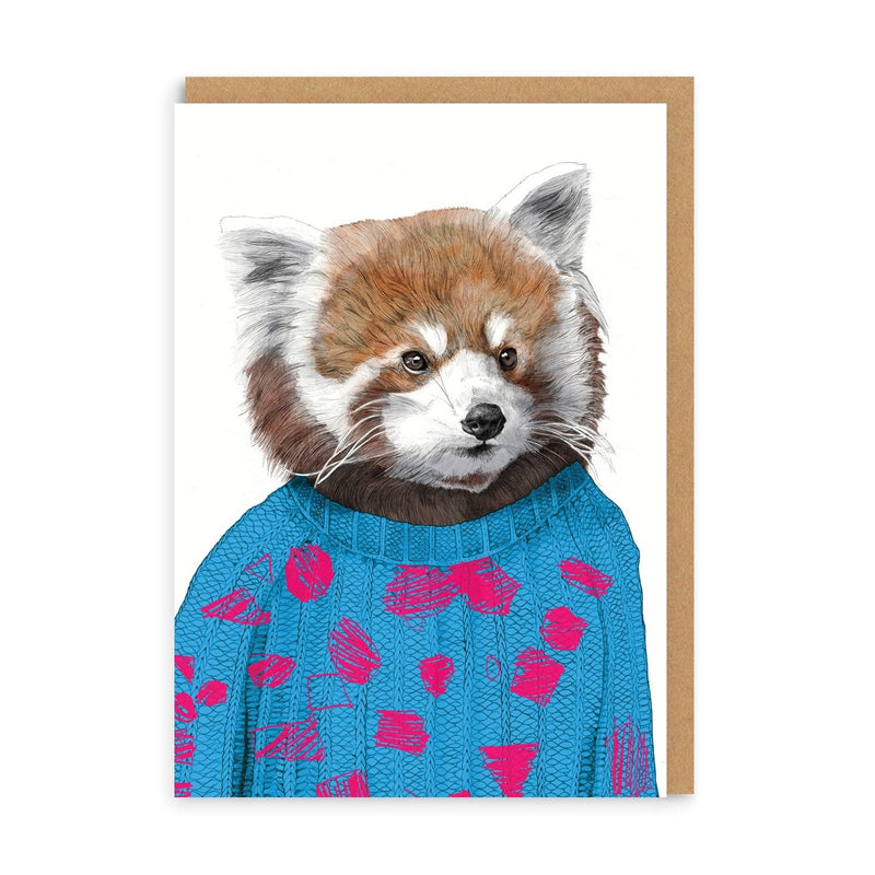 Howard Red Panda Greeting Card
