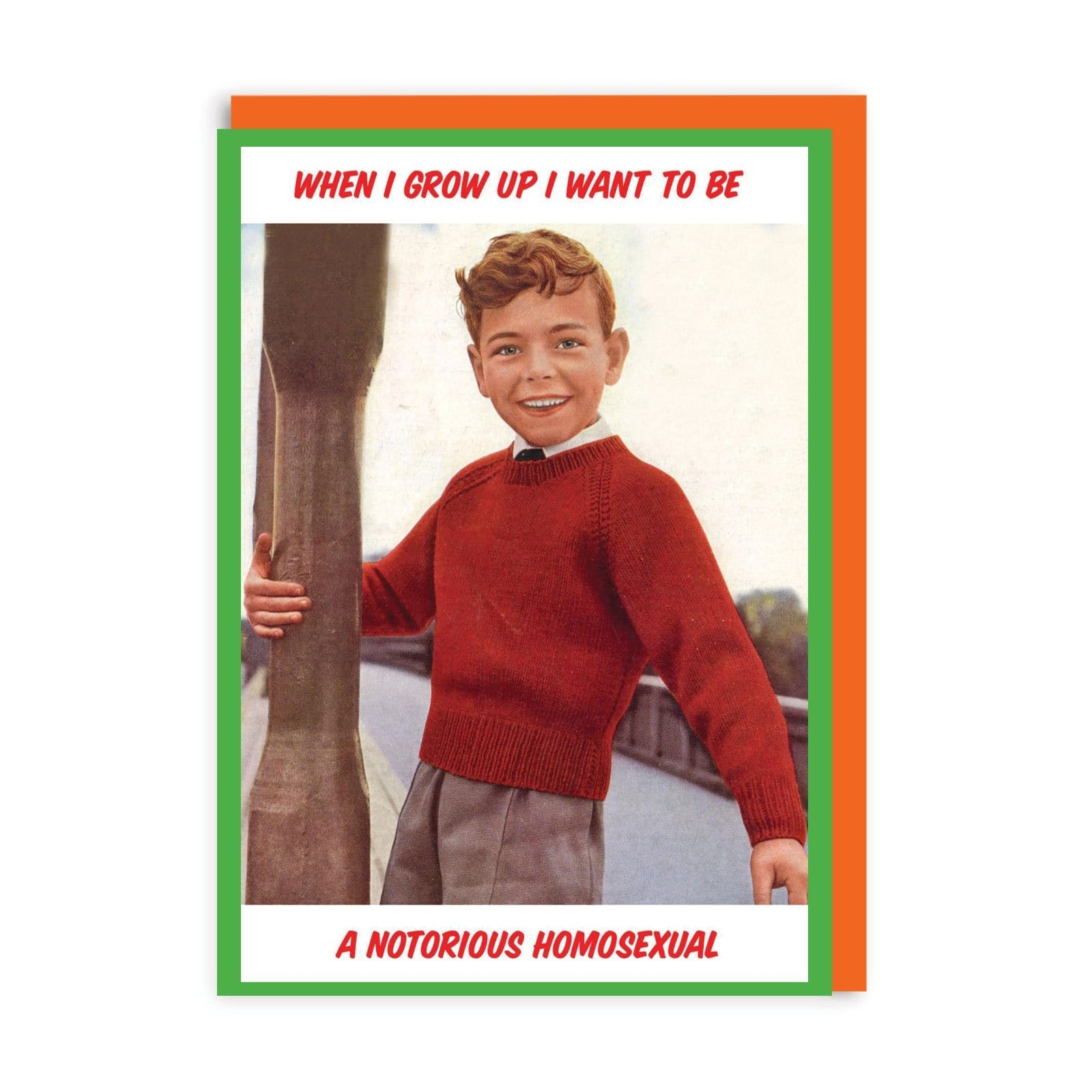 Notorious Greeting Card