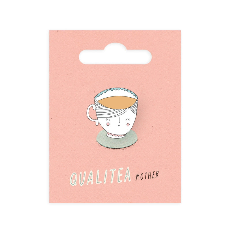 Qualitea Mother Enamel Pin