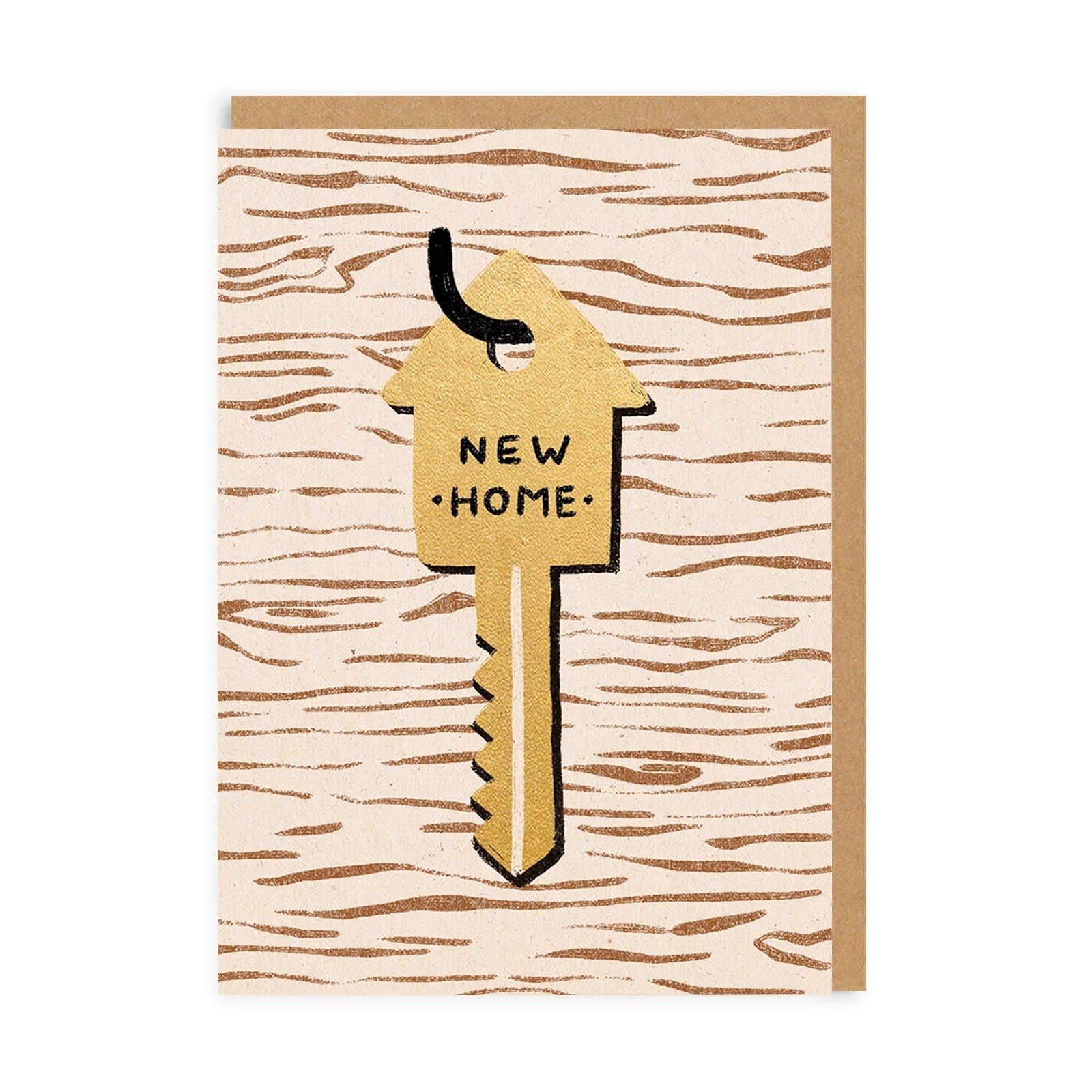 New Home Key Greeting Card