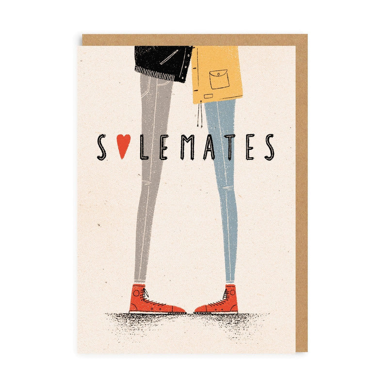 Solemates Greeting Card