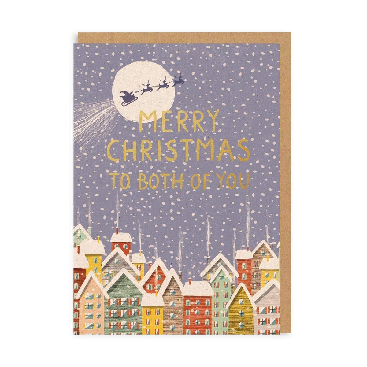 Both Of You Town Greeting Card