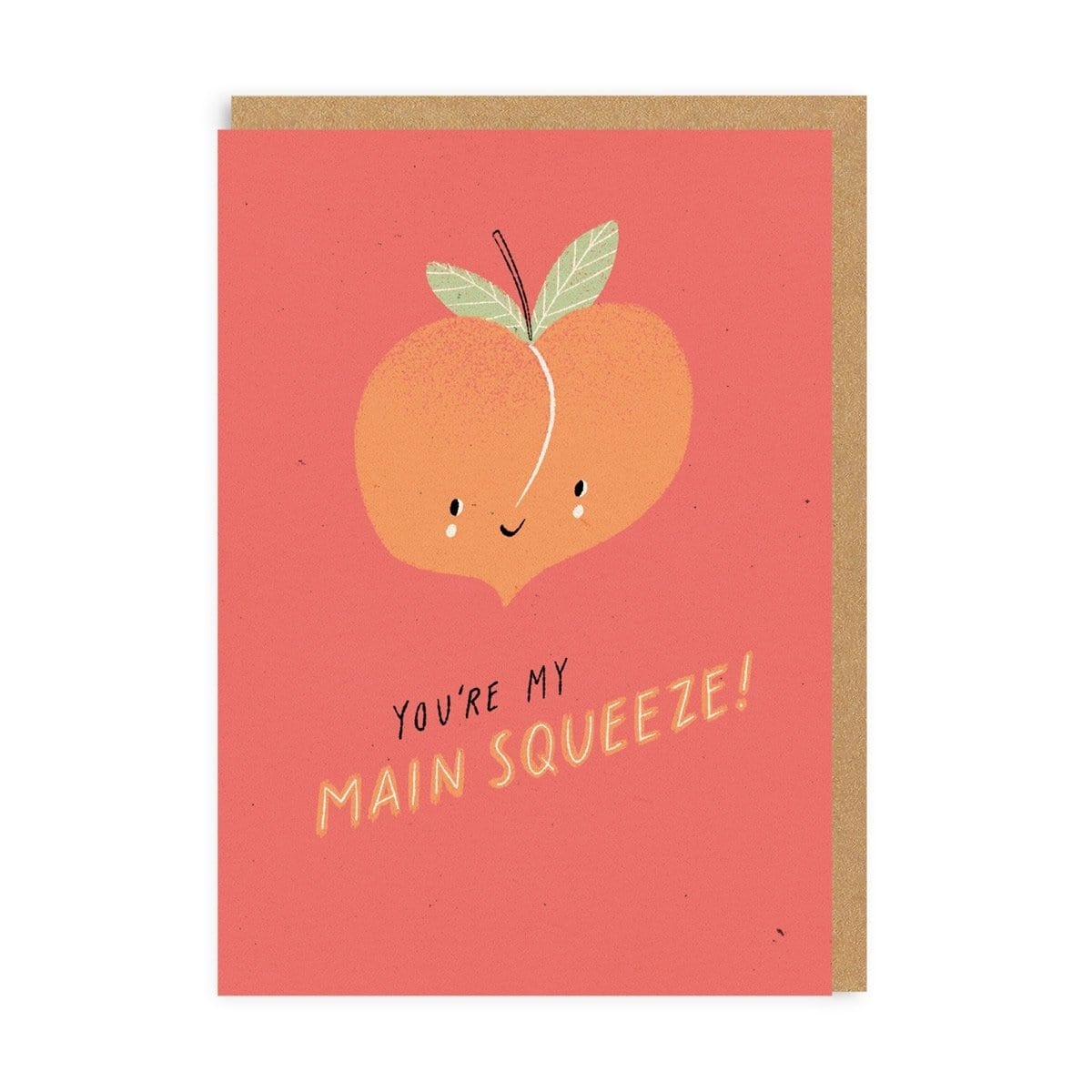 Main Squeeze Greeting Card