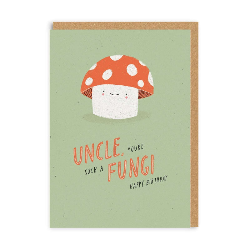 Uncle Fungi Greeting Card
