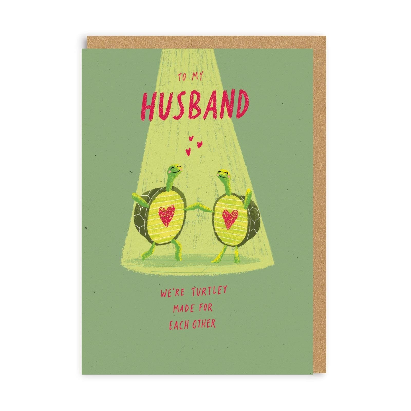 Husband Turtley Made For Each Other Greeting Card