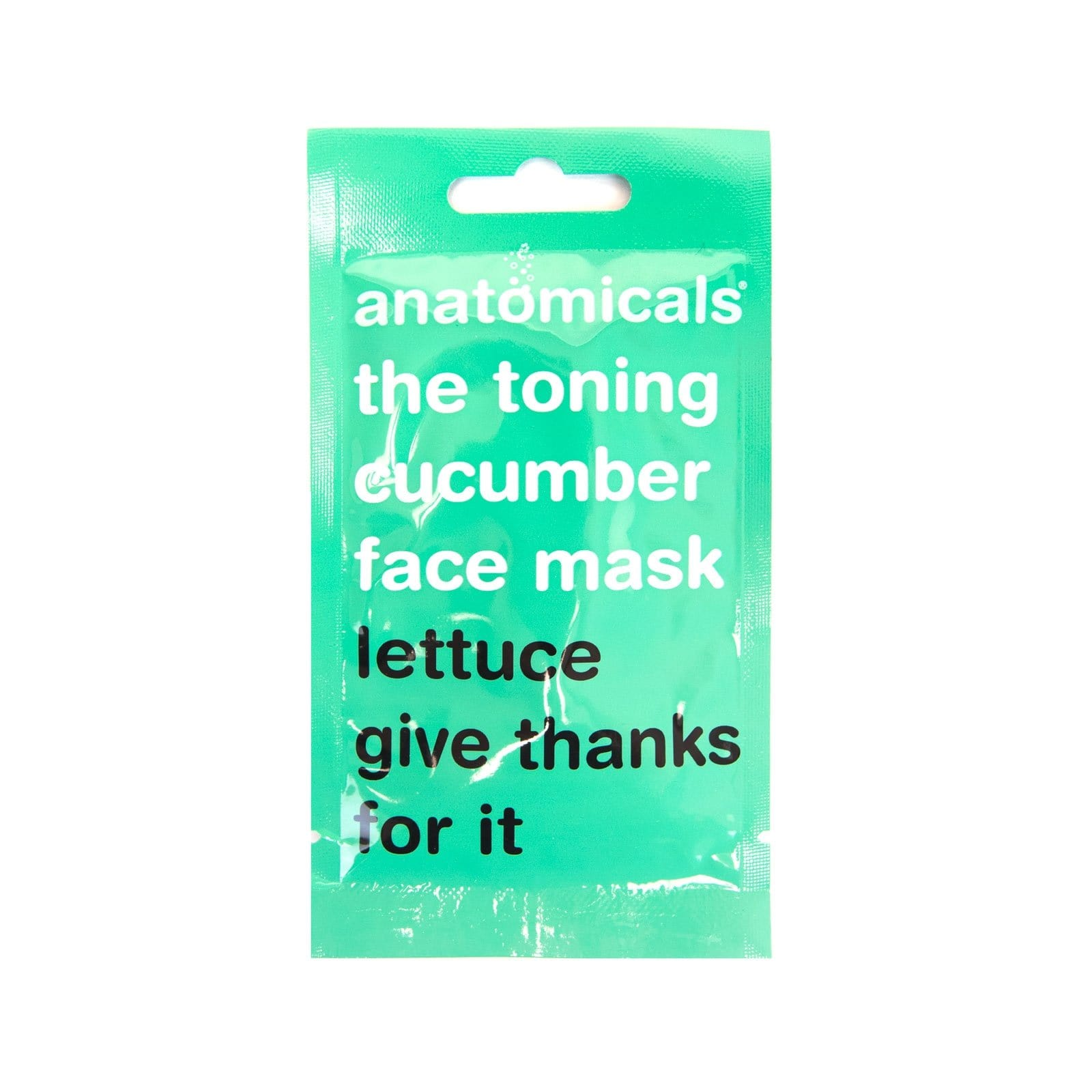 The Toning Cucumber Face Mask