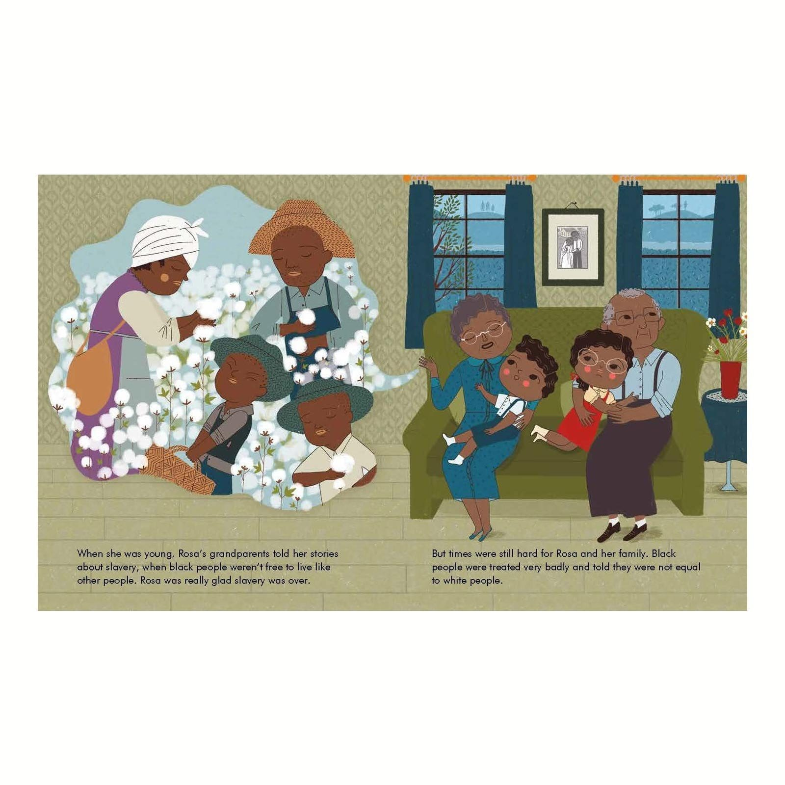 Rosa Parks - Little People Big Dreams Book