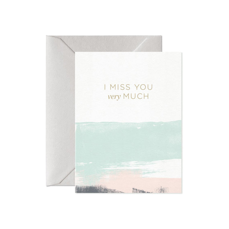 I Miss You Very Much Greeting Card