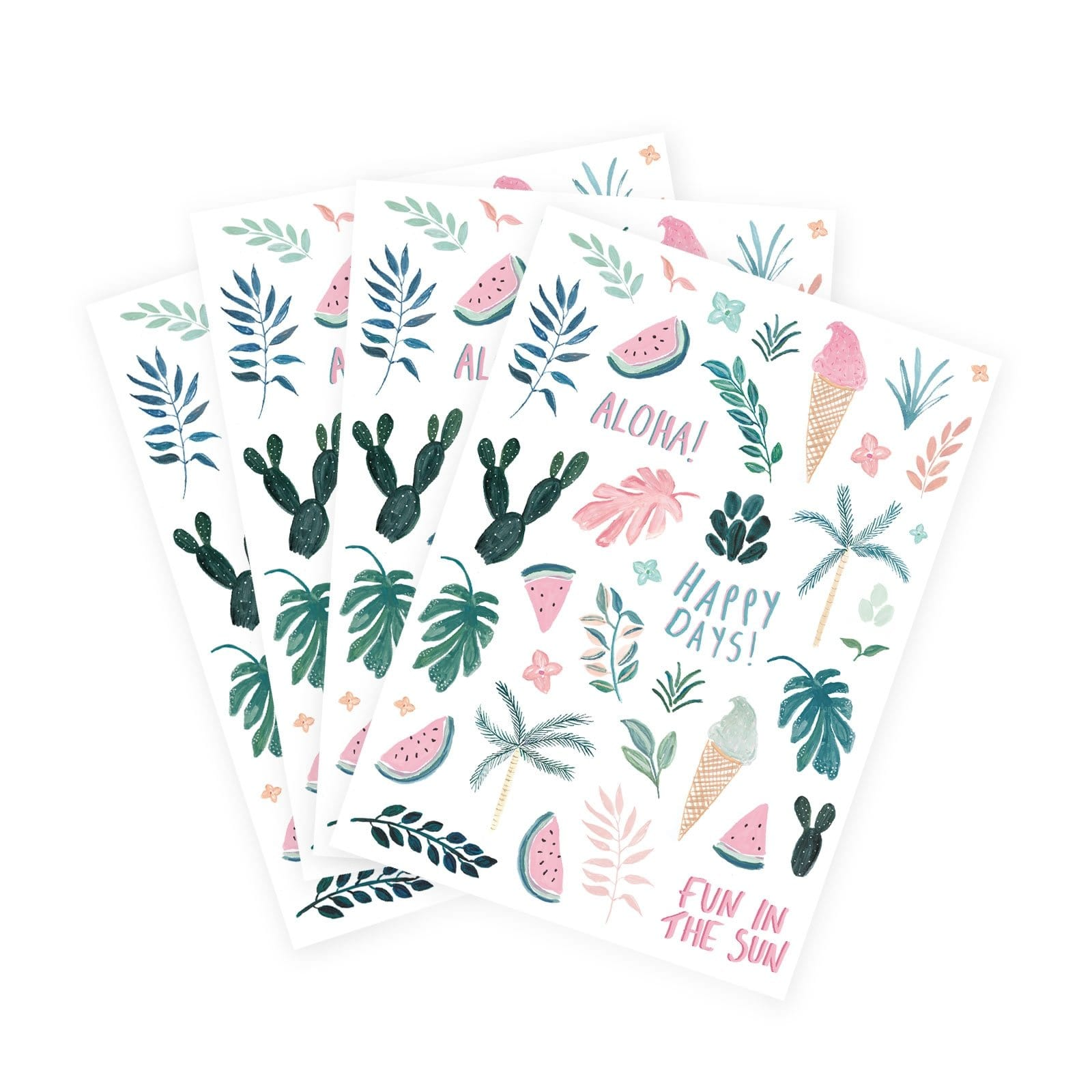 Ohh Deer x Marzia Fun In The Sun Stickers