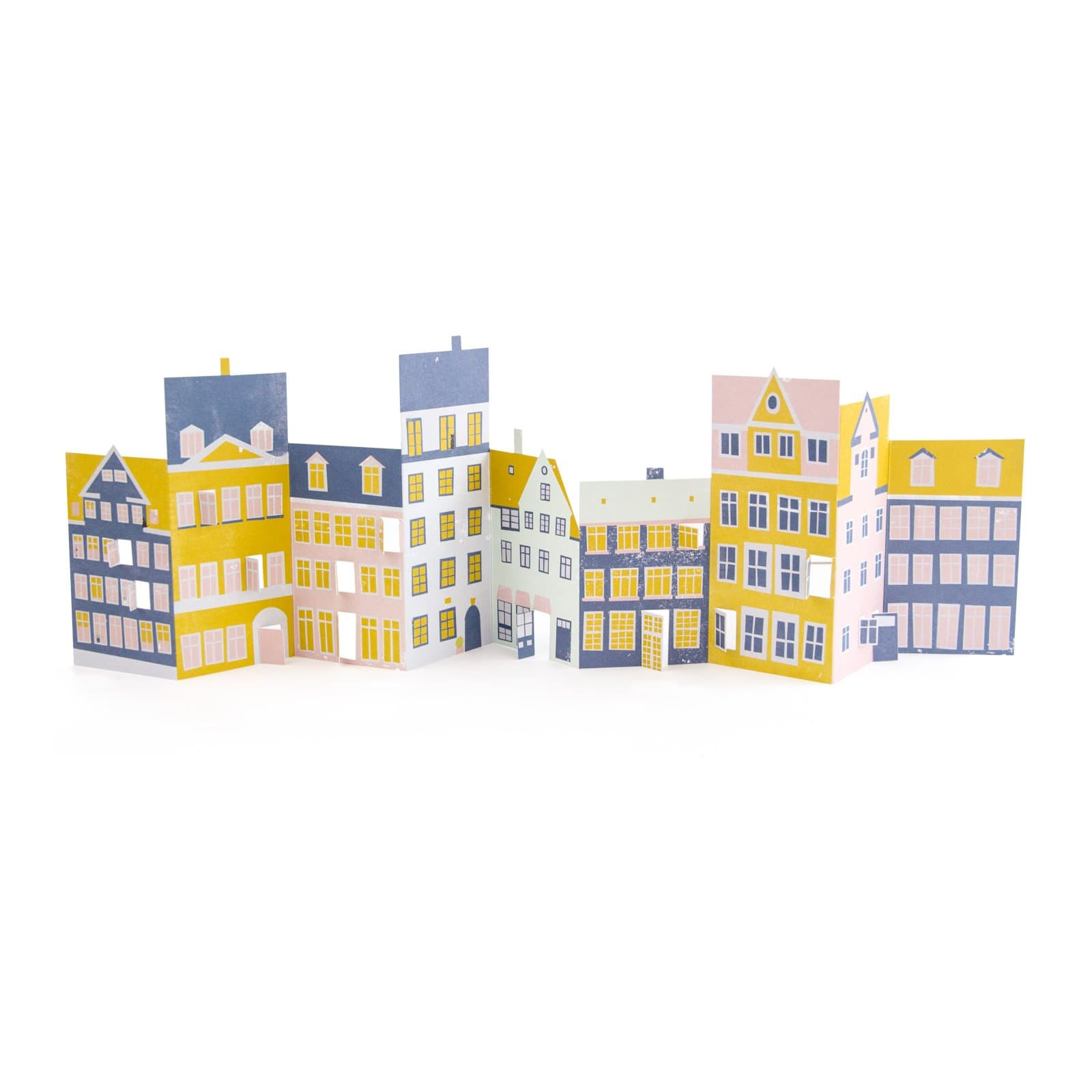 Concertina Houses Decoration