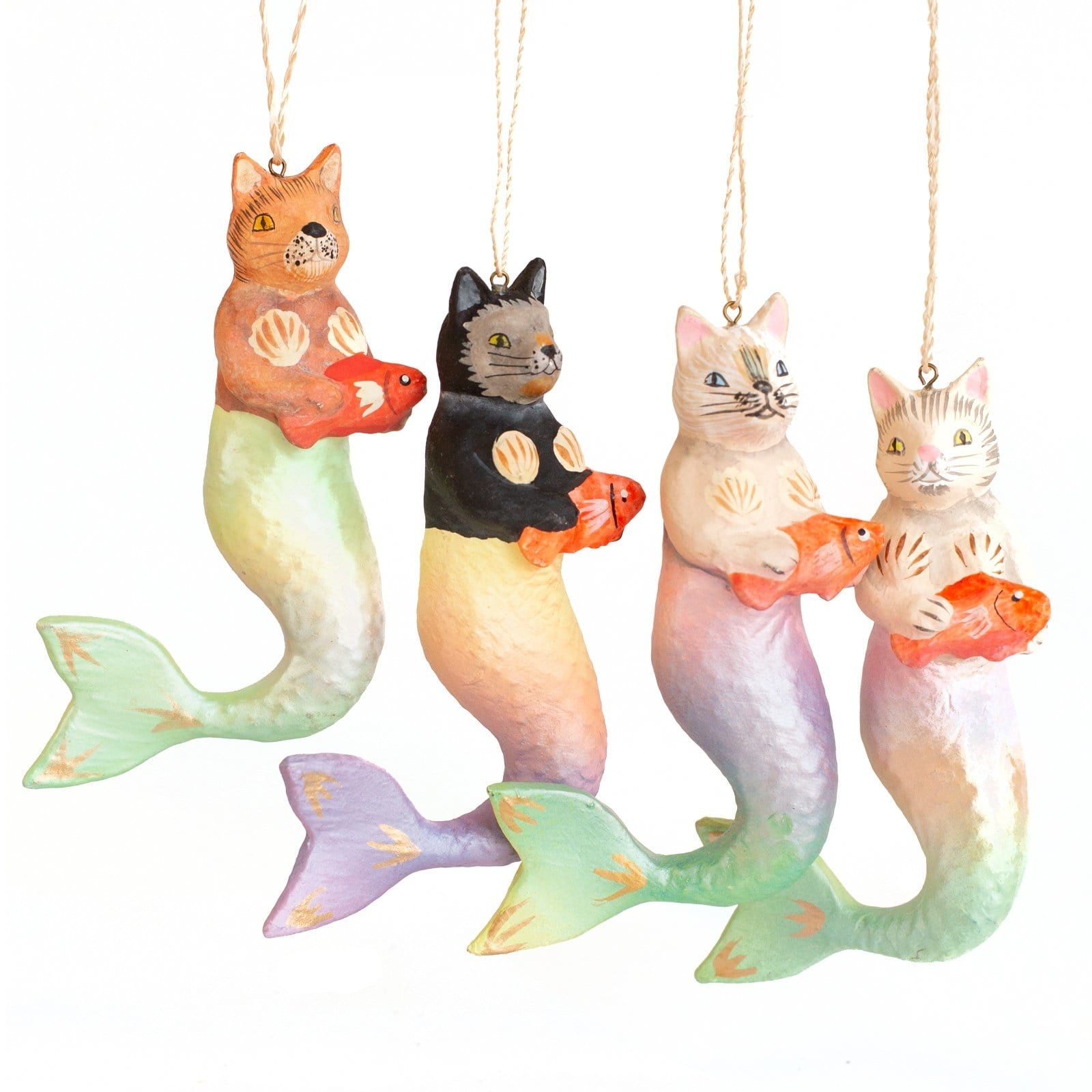 Purrmaid Tree Ornament
