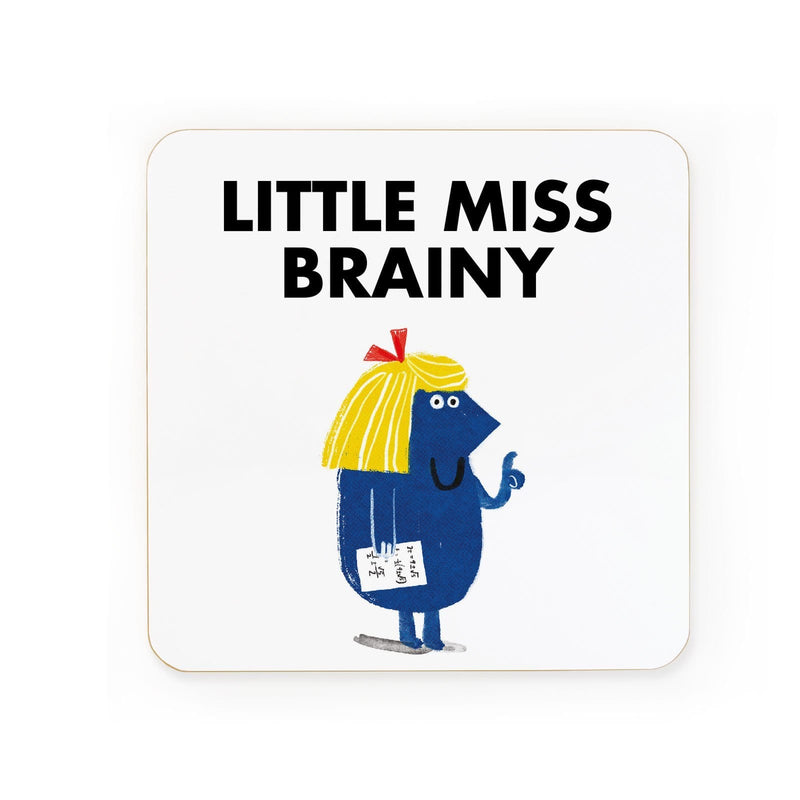 Little Miss Brainy Coaster