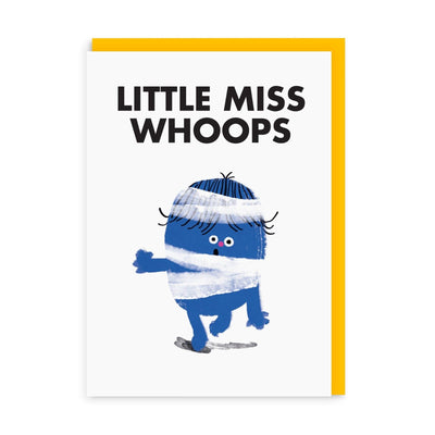Little Miss Whoops Greeting Card