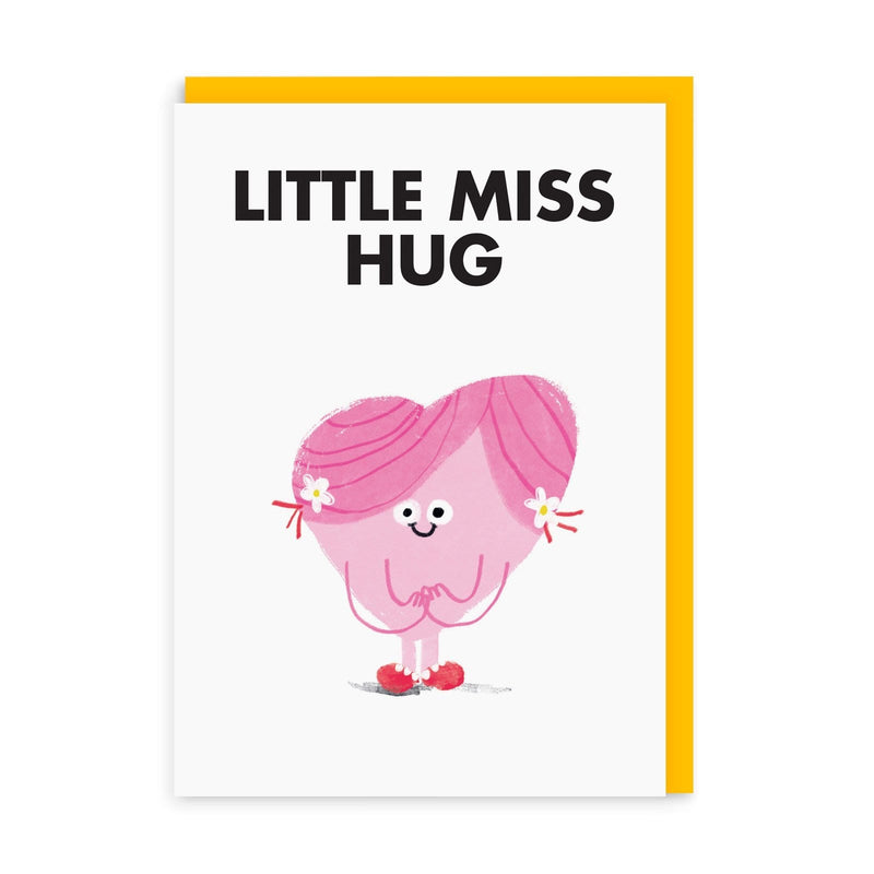 Little Miss Hug Greeting Card