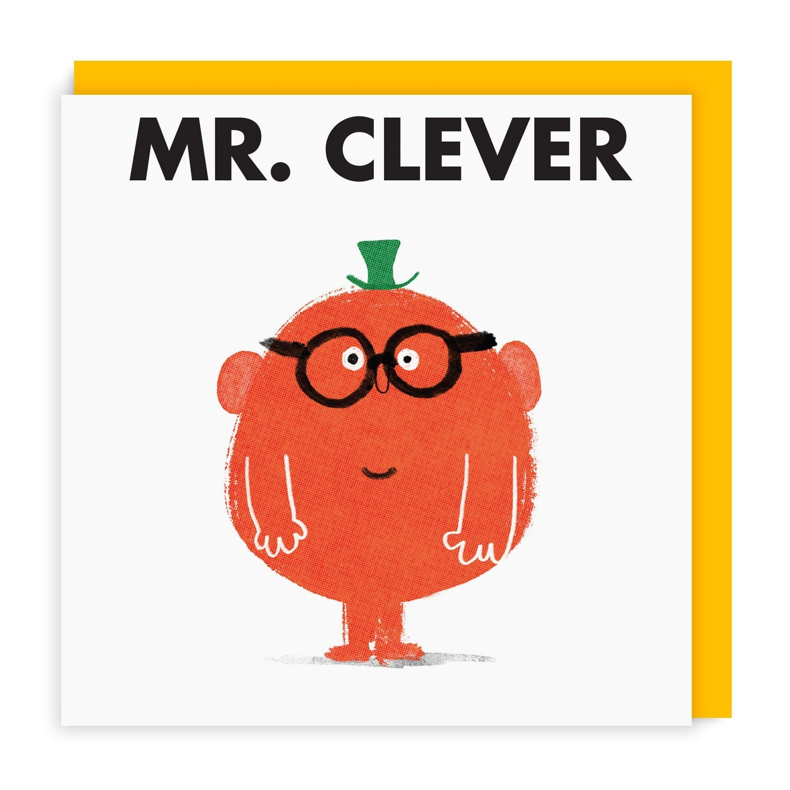 Mr Clever Square Greeting Card