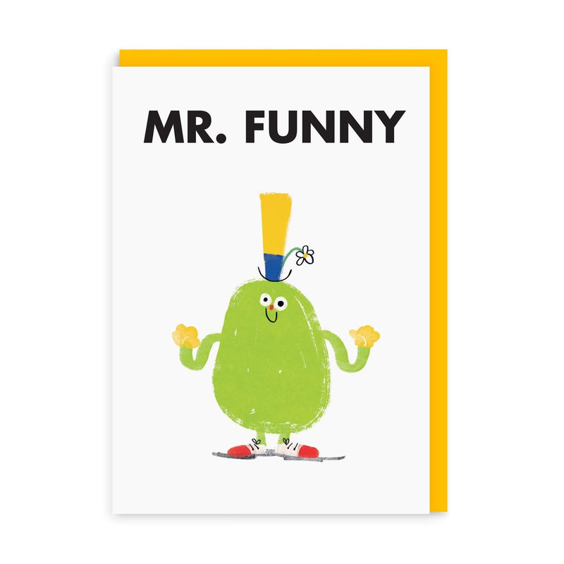 Mr Funny Greeting Card