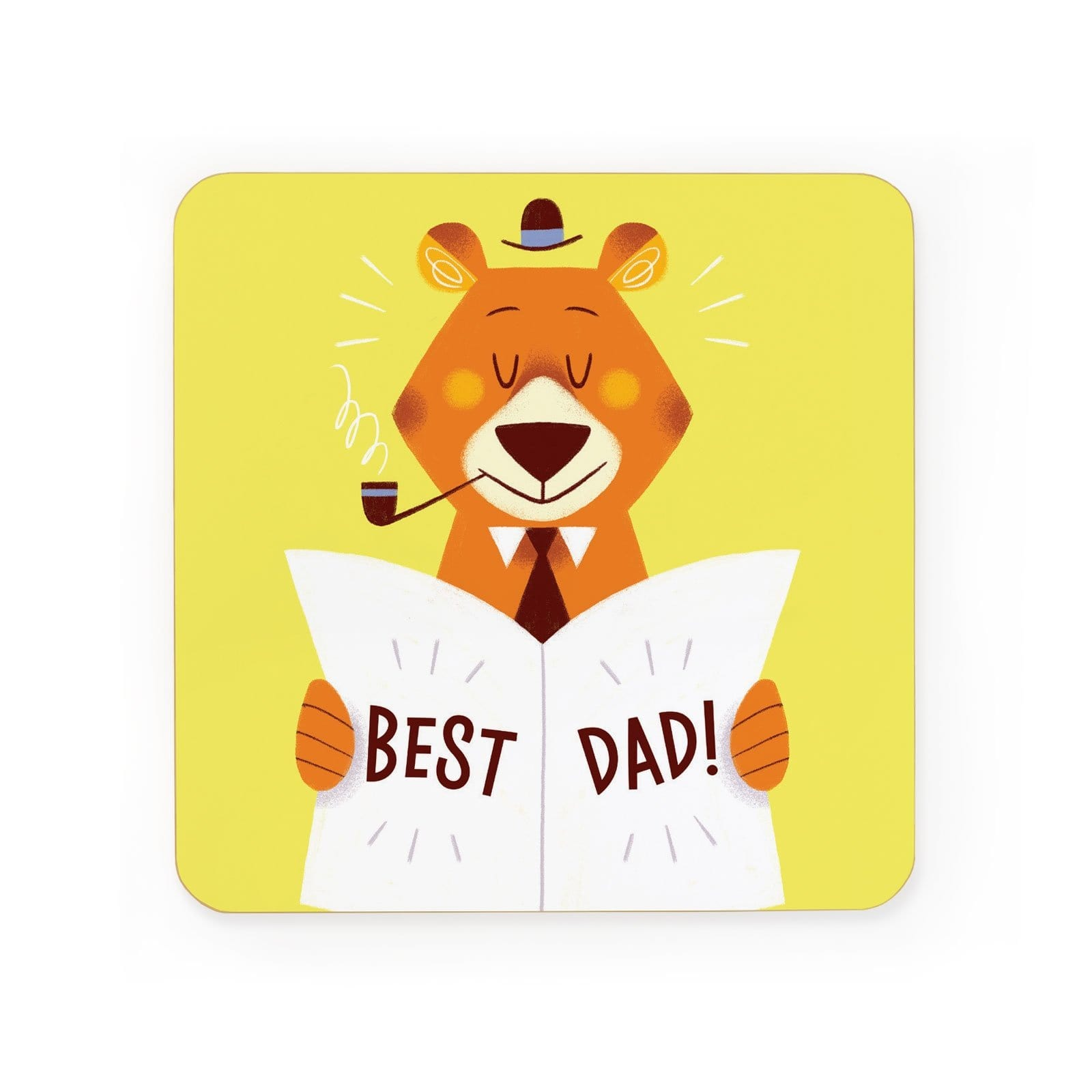 Best Dad Coaster