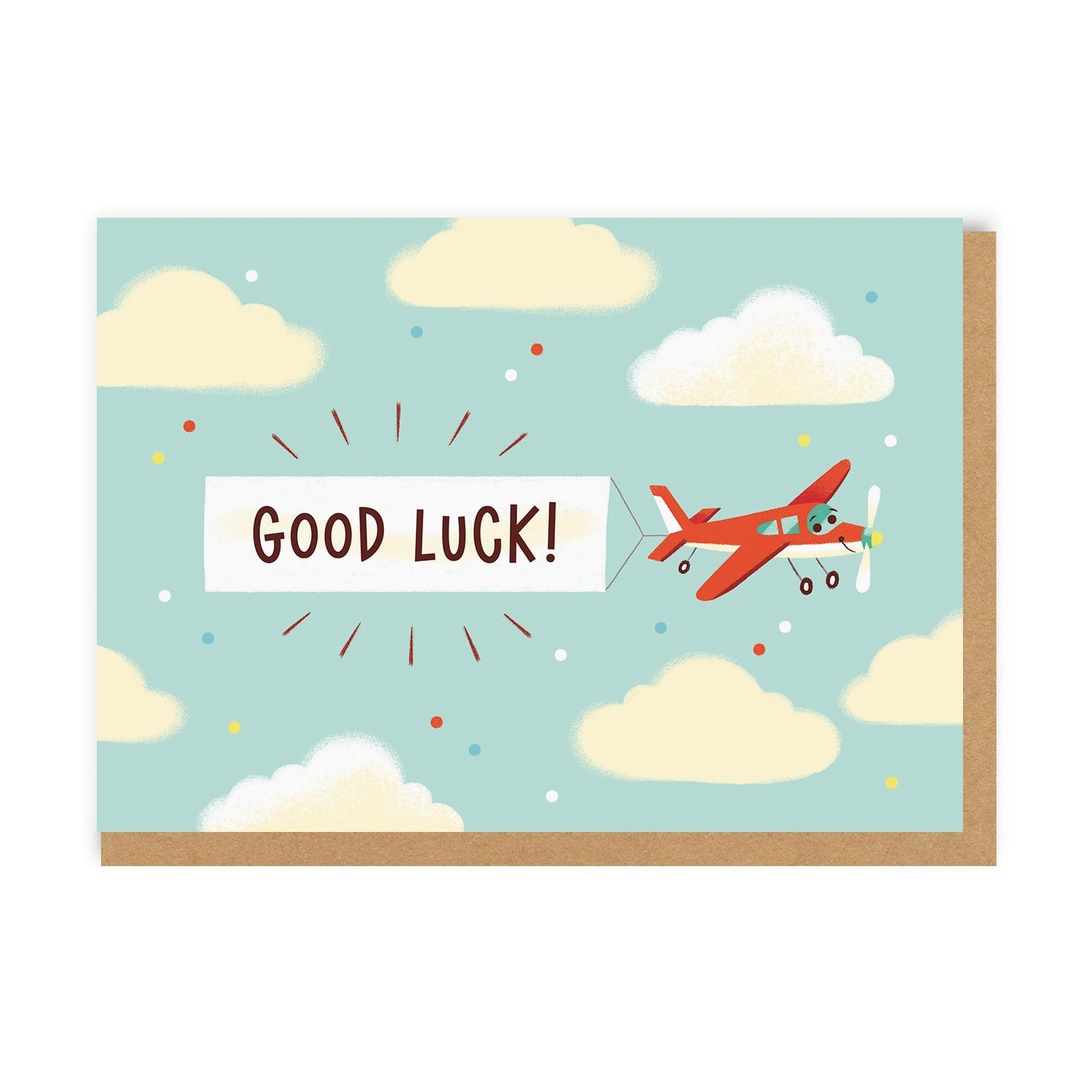 Good Luck Planes Greeting Card