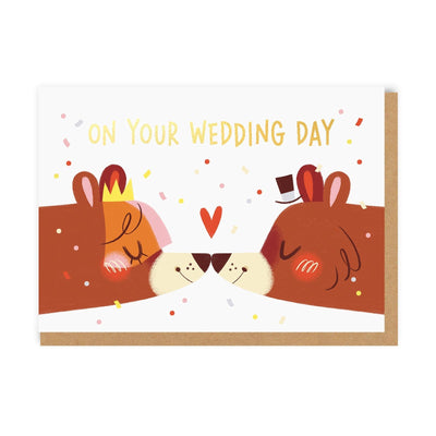 Wedding Bears Greeting Card