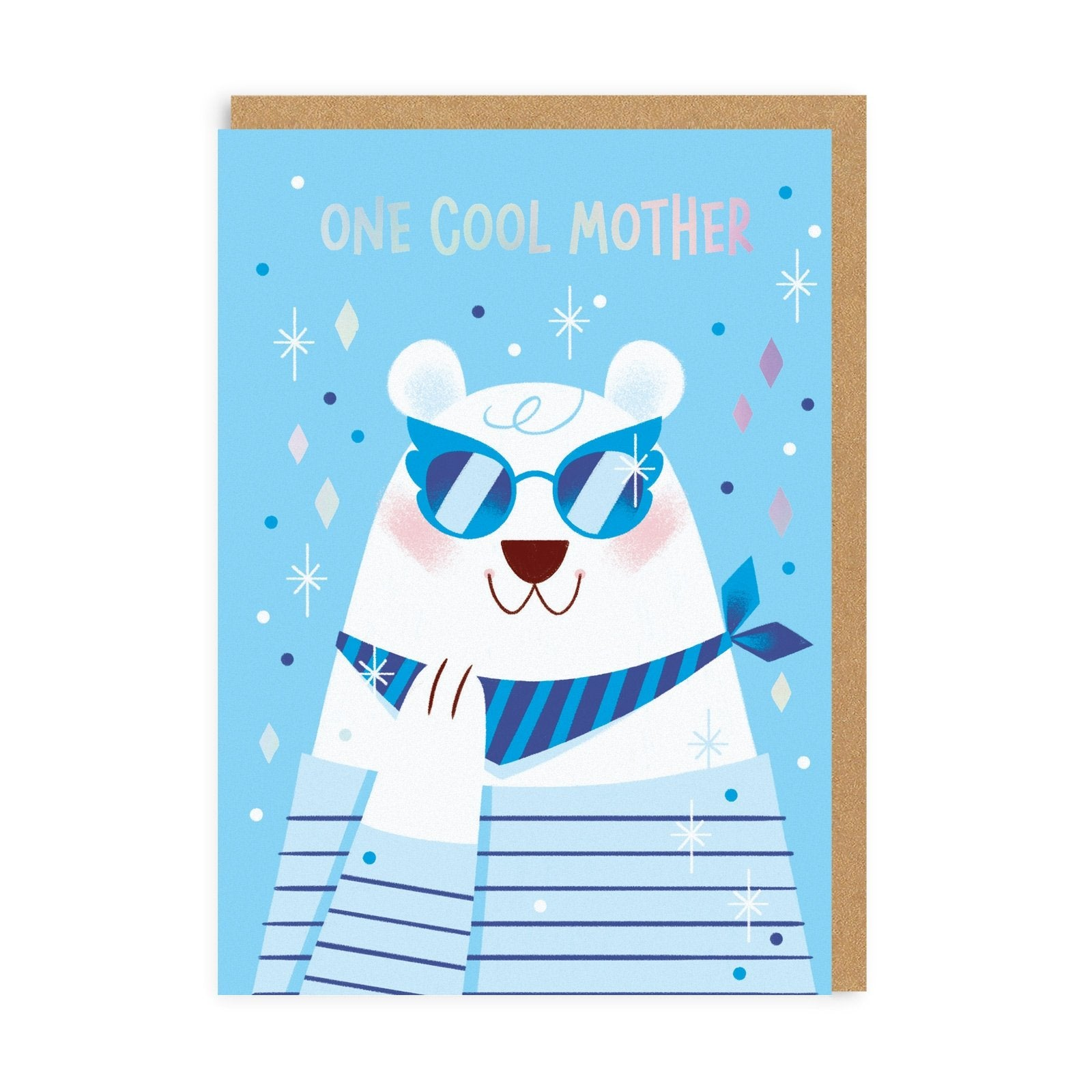 One Cool Mother Greeting Card
