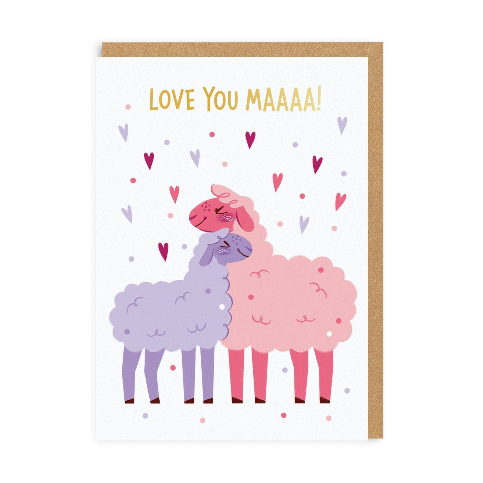 Love You Maaa! Greeting Card