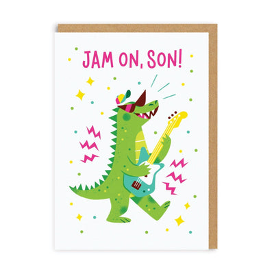 Jam On Son Greeting Card