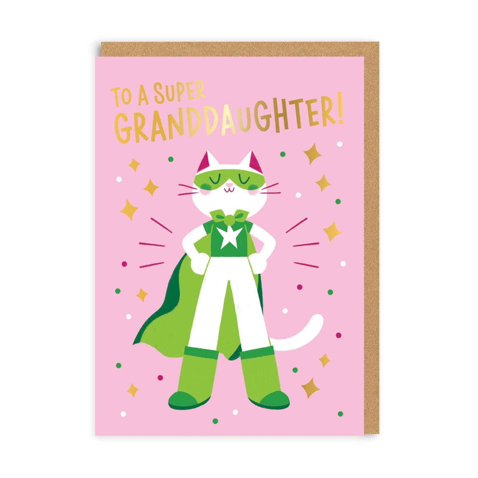 Granddaughter Super Greeting Card