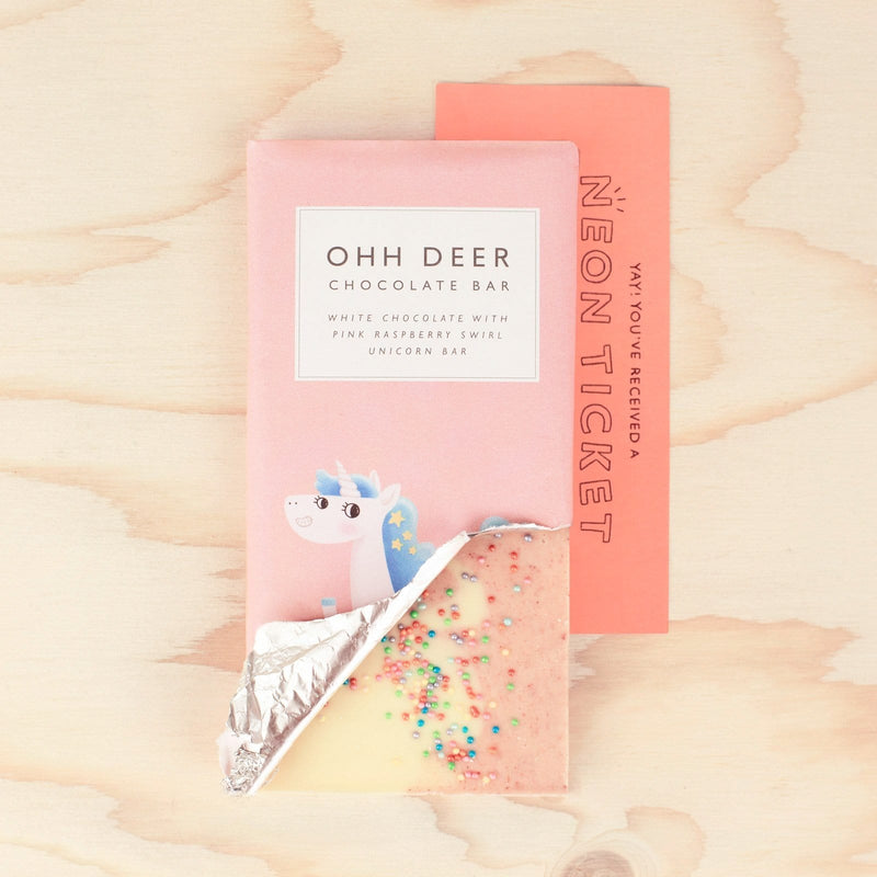 Unicorn Sprinkles Chocolate Bar