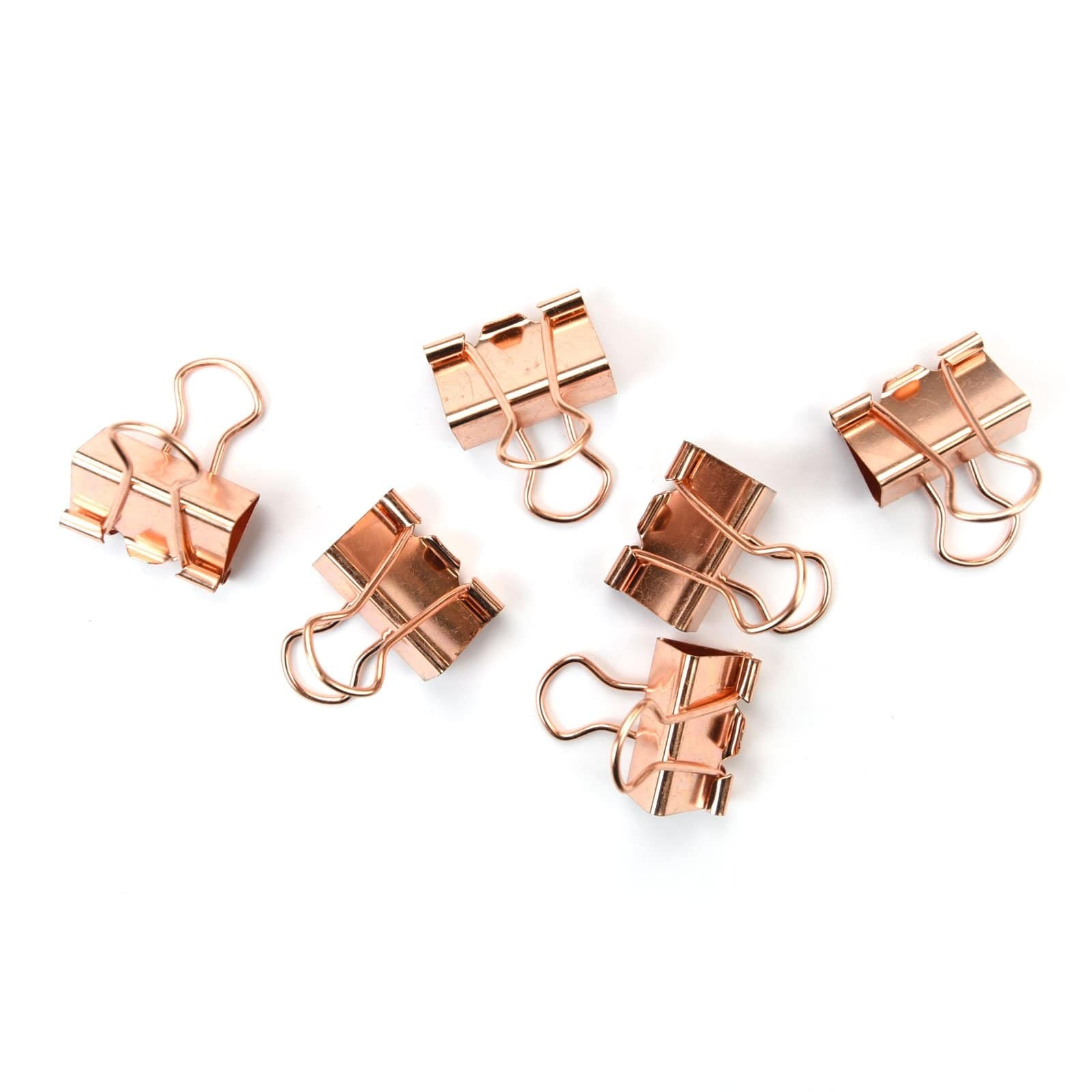 Rose Gold Bulldog Clips