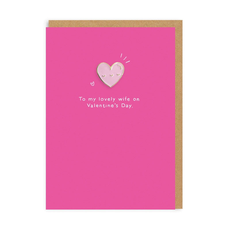 Heart Wife Greeting Card