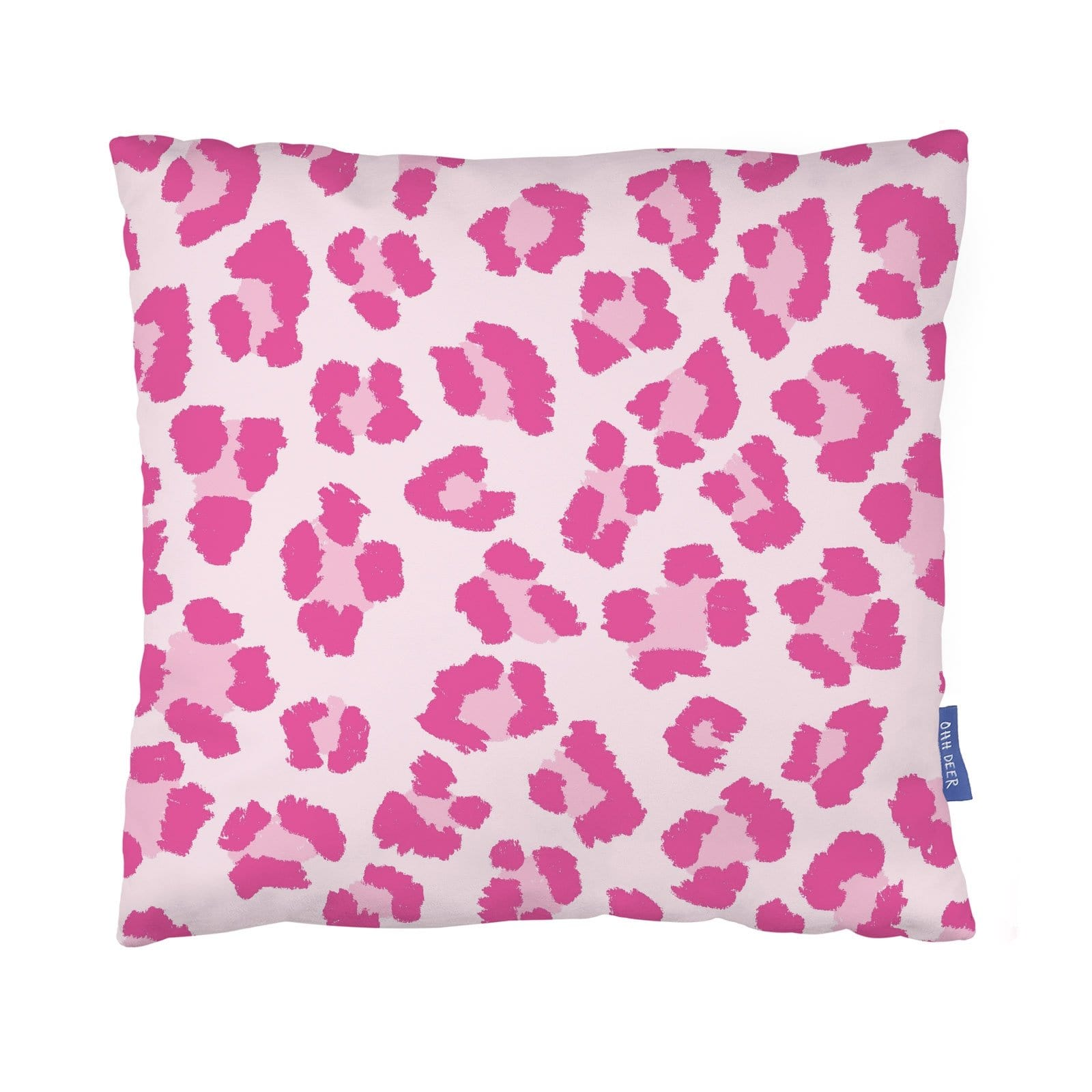 Pink Leopard Cushion