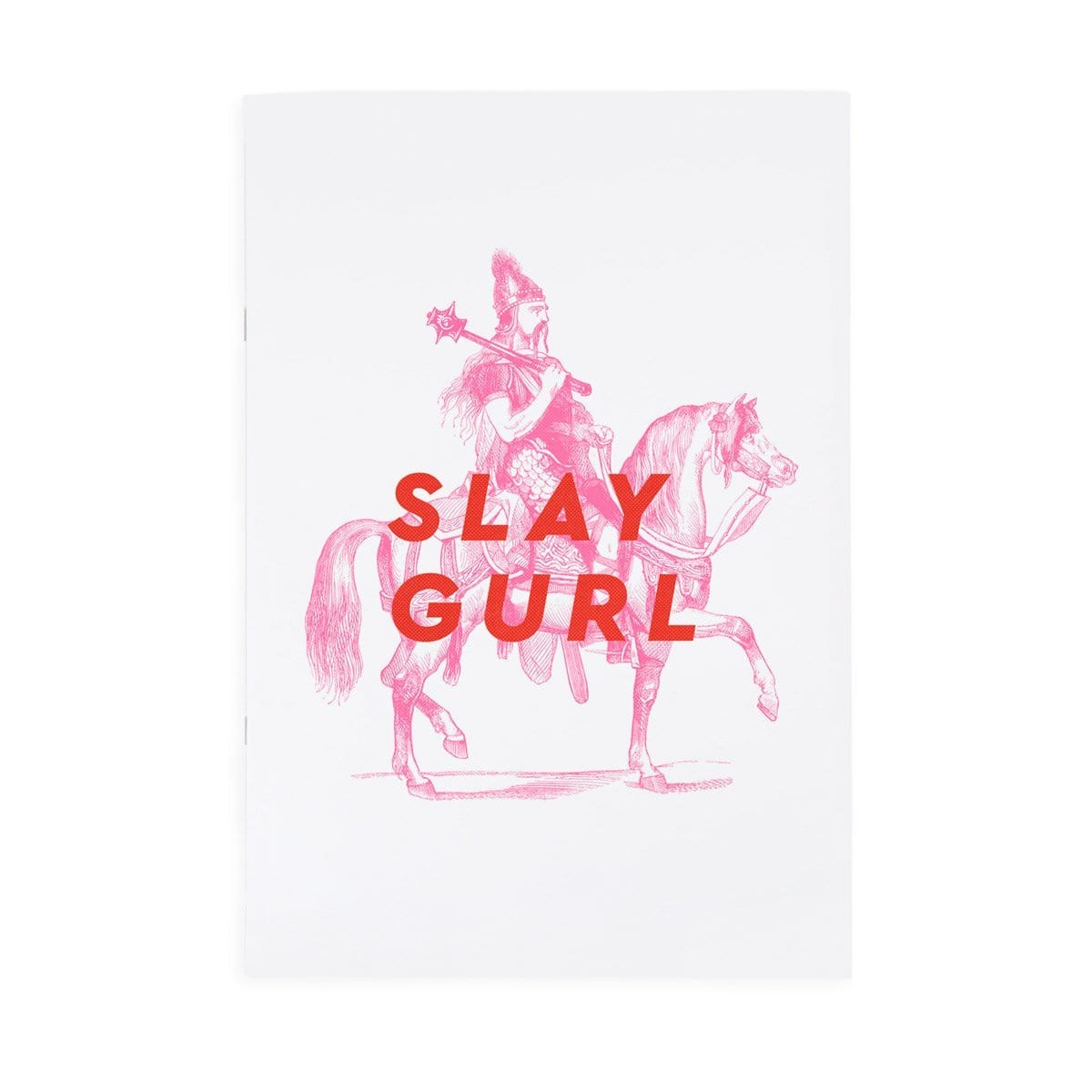 Slay Gurl Riso A4ish Notebook